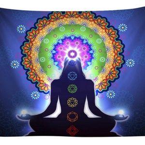 Zen Meditating Tapestry